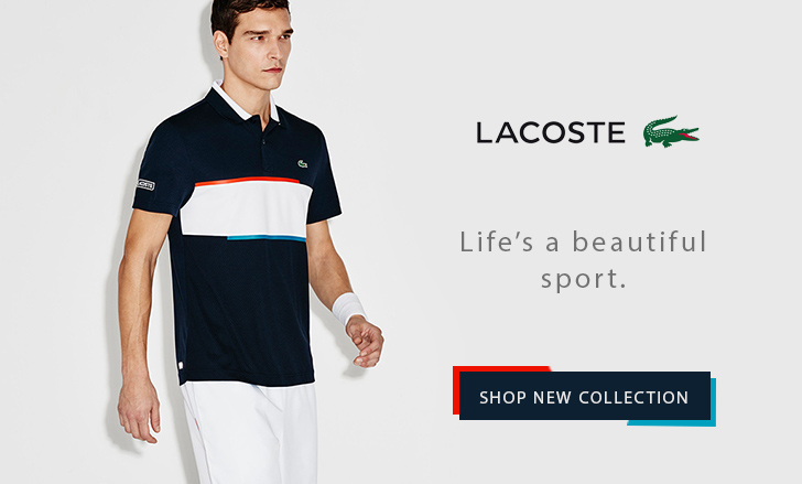 Lacoste Spring 2017 Tennis Collection