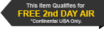 This Item Qualifies for Free 2 Day Shipping