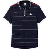 Lacoste Roland Garros UltraDry Zippered Men's Tennis Polo