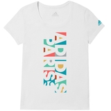 Adidas Side- By- Side Graphic Women's Tennis Tee