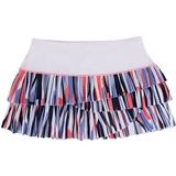 Lucky in Love Pleat Scallop Women's Tennis Skirt