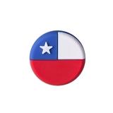 Chile Flag Vibration Dampener