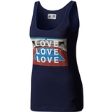 Adidas Pharrell Williams Ny Graphic Women's Tennis Tank