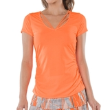 Lucky in Love Contour Strappy Women's Tee