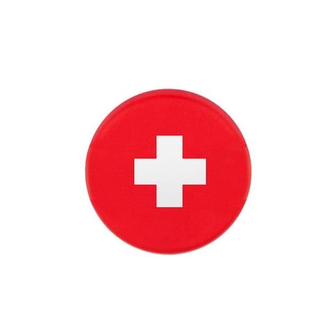 Tennis Plaza Switzerland Flag Tennis Dampener